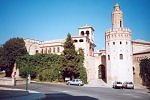 Pueblo Espanol - Reprod. of old buildings from all Spain